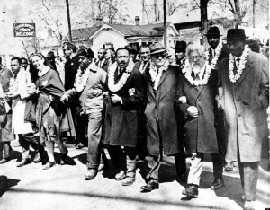 DR. MARTIN LUTHER KING JR.; DR. RALPH BUNCHE;  Rabbi Abraham Joshua Heschel;  Rev. Fred Shuttlesworth